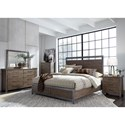 Liberty Furniture Sonoma Road Queen Bedroom Group - Item Number: 473-BR-QPBDMCN