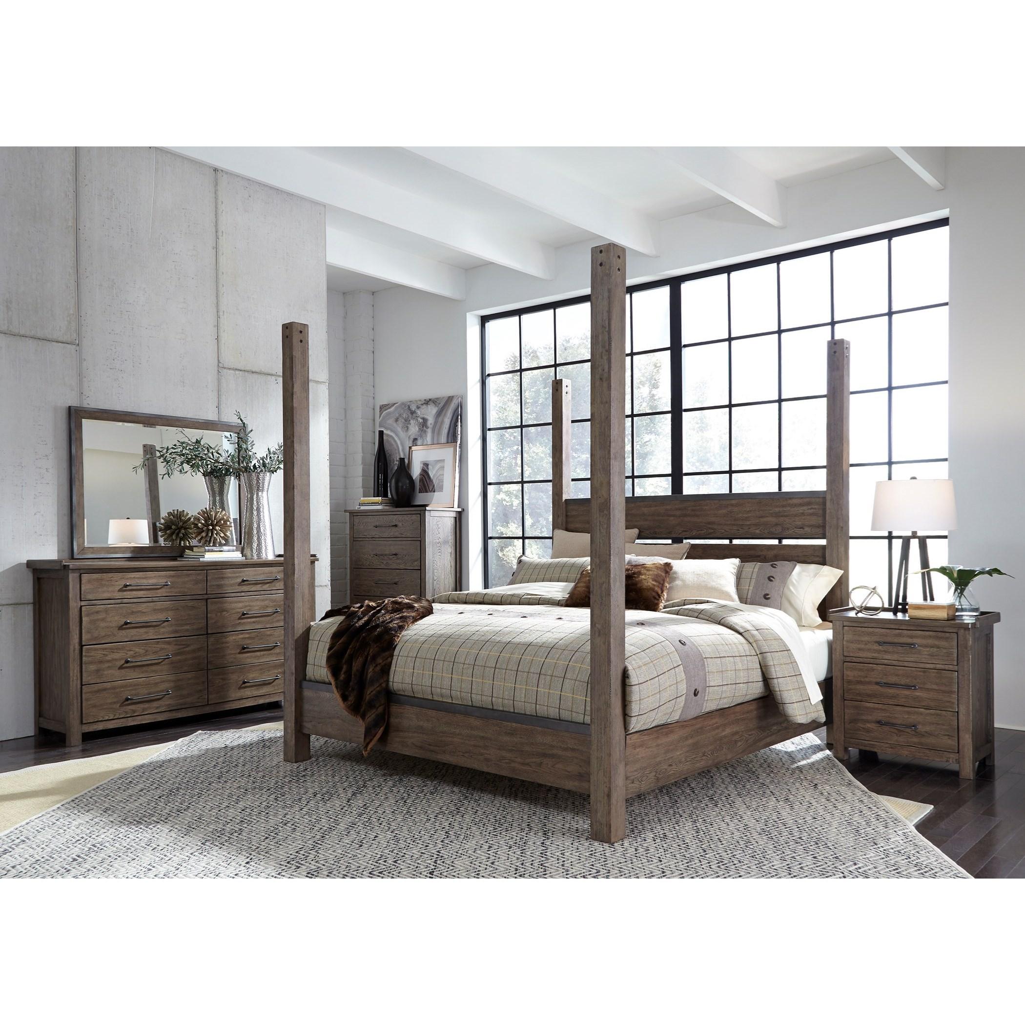Sarah Randolph Designs Sonoma Road King Bedroom Group