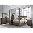 Liberty Furniture Sonoma Road King Bedroom Group - Item Number: 473-BR-KPSDMCN