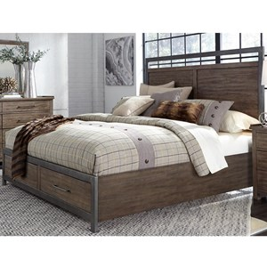 Liberty Furniture Sonoma Road Queen Storage Bed
