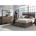 Sarah Randolph-J Sonoma Road Queen Bedroom Group - Item Number: 473-BR-QSBDMC