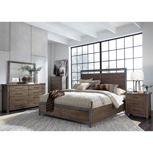 Liberty Furniture Sonoma Road Queen Bedroom Group