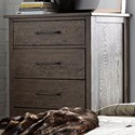 Liberty Furniture Sonoma Road 5 Drawer Chest - Item Number: 473-BR41