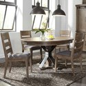 Liberty Furniture Sonoma Road 5 Piece Table and Chair Set  - Item Number: 473-DR-5PDS