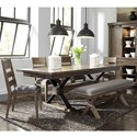 Liberty Furniture Sonoma Road 6 Piece Table and Chair Set  - Item Number: 473-DR-6TRS