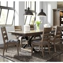 Liberty Furniture Sonoma Road 7 Piece Table and Chair Set  - Item Number: 473-DR-7TRS