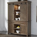 Liberty Furniture Sonoma Road Hutch & Buffet  - Item Number: 473-DR-HB
