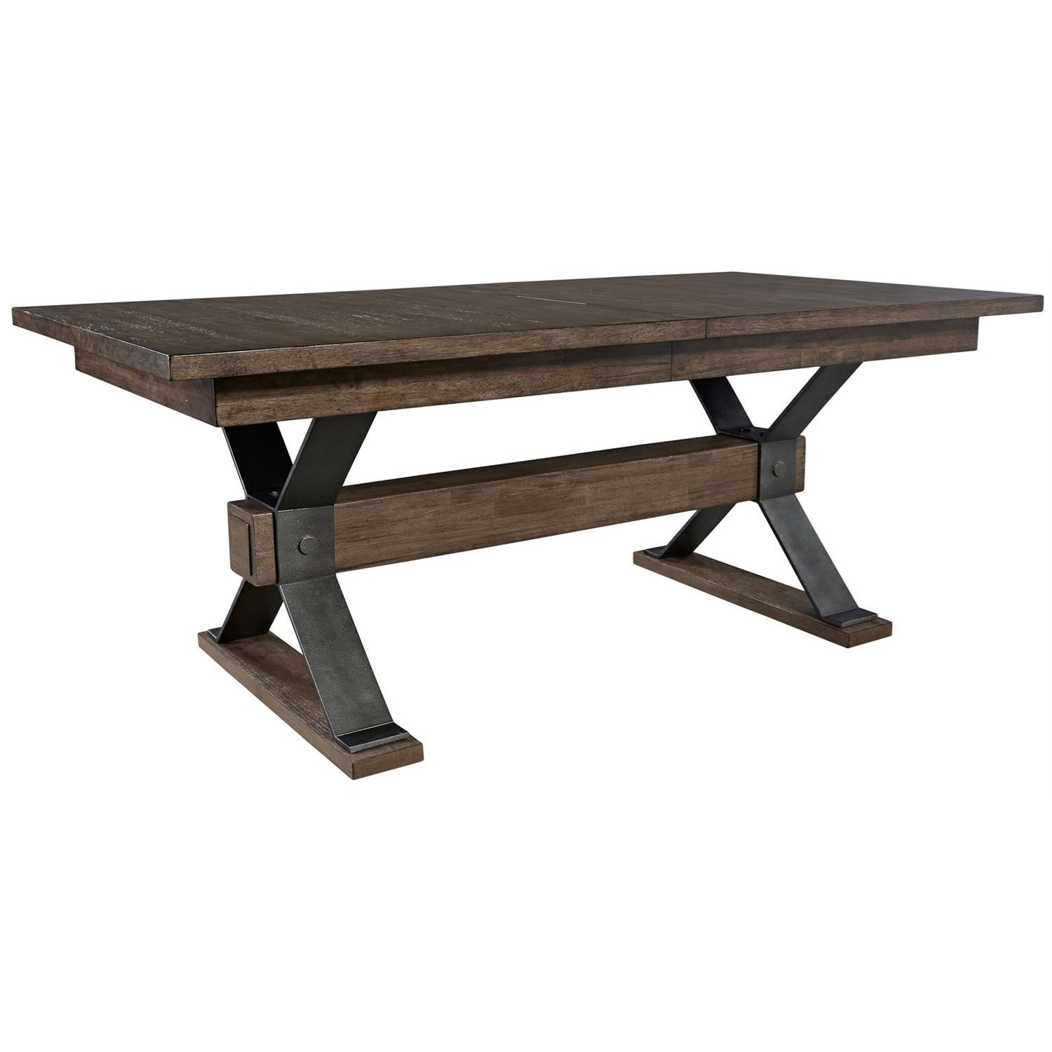 Sonoma Road Trestle Table by Liberty Furniture at Johnny Janosik