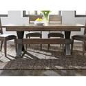 Liberty Furniture Sonoma Road Trestle Table - Item Number: 473-DR-TRS