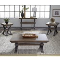 Liberty Furniture Sonoma Road Occasional Table Group - Item Number: 473-OT-3PCS