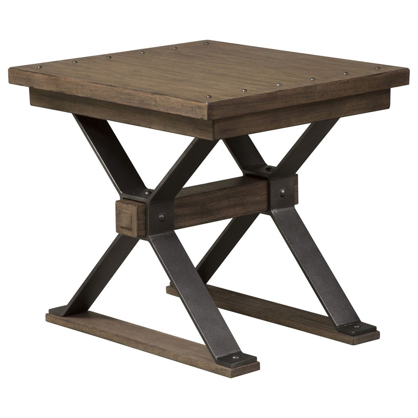 Sonoma Road End Table by Liberty Furniture at Rooms for Less