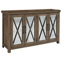 Liberty Furniture Sonoma Road Sideboard with Reversible Doors - Item Number: 473-SB6237AM