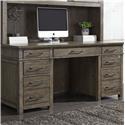 Liberty Furniture Sonoma Road Executive Desk - Item Number: GRP-473HO-EXECDESK