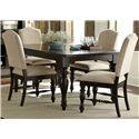 Vendor 5349 Southern Pines Opt 5 Piece Rectangular Table Set - Item Number: 818-DR-O5RLS