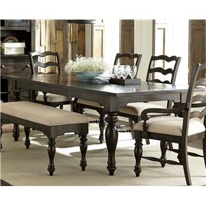 Vendor 5349 Southern Pines Rectangular Leg Table