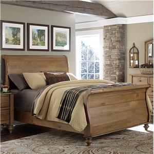 Liberty Furniture Southern Pines King Size Sleigh Bed