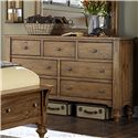 Vendor 5349 Southern Pines 7 Drawer Dresser - Item Number: 918-BR31