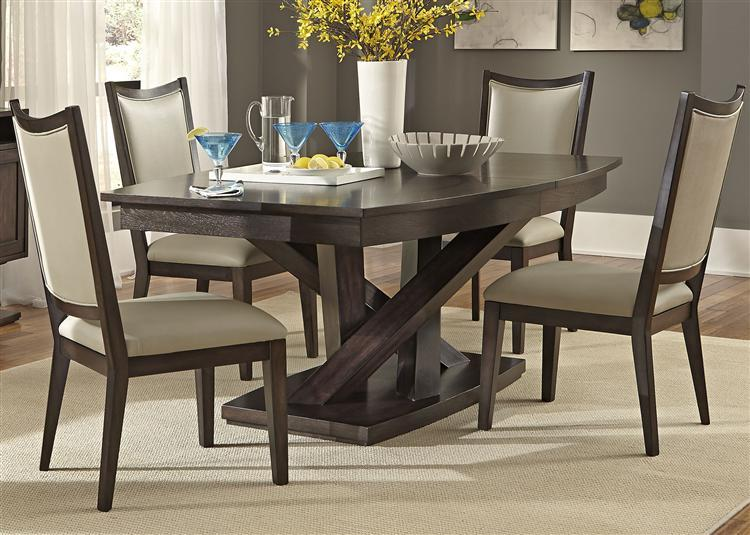 Liberty Furniture Southpark Contemporary 5 Piece Dining Set Prime Brothers Furniture Dining