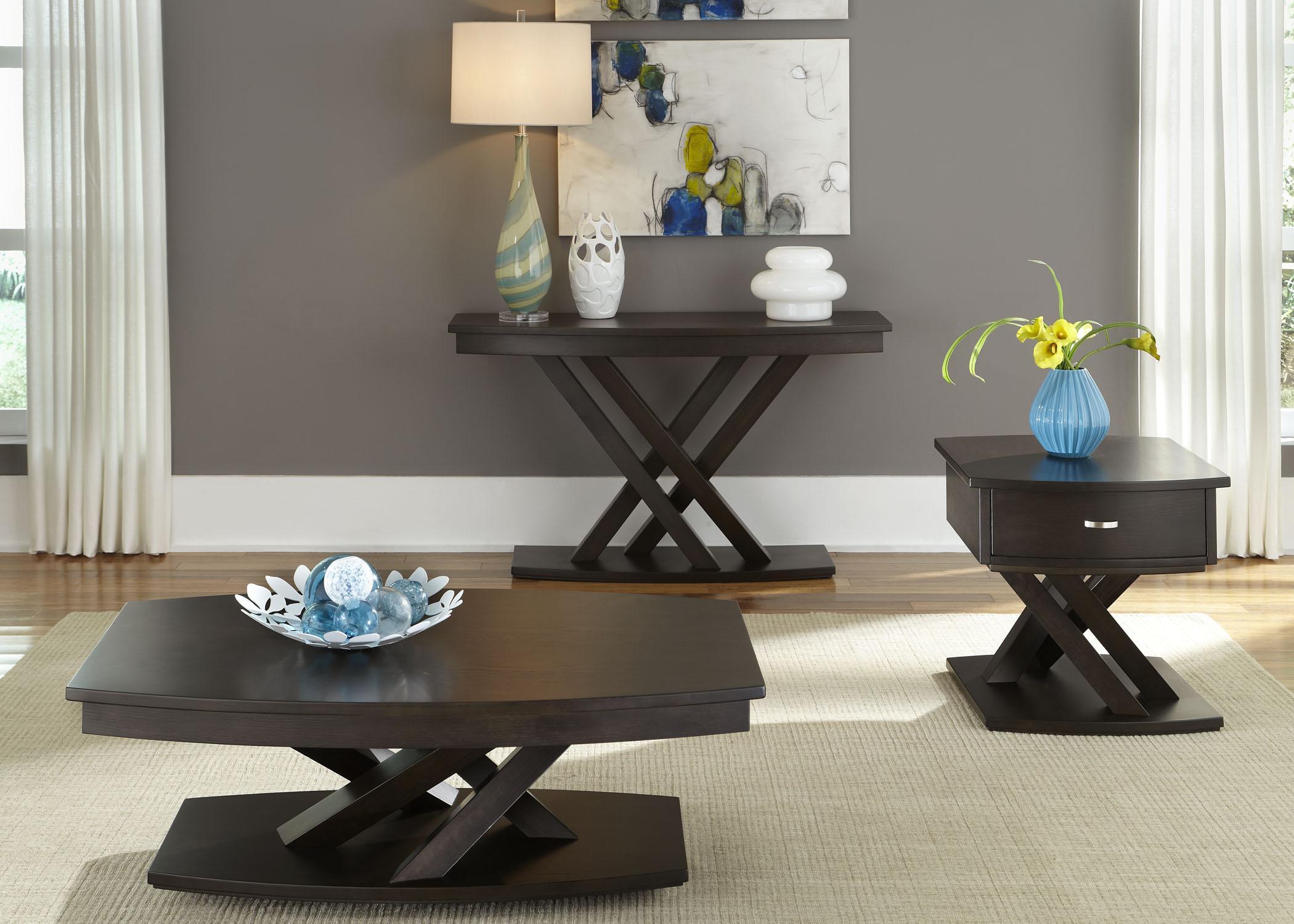 Liberty Furniture Southpark 3 Piece Set - Item Number: 623-OT-SET05