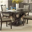 Liberty Furniture Southpark Rectagle Pedestal Dining Table - Item Number: 623-P4884+T4884