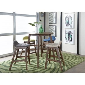 Liberty Furniture Space Savers 5-Piece Gathering Table Set