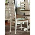 Liberty Furniture Springfield Dining Ladder Back Side Chair - Item Number: 278-C2000S