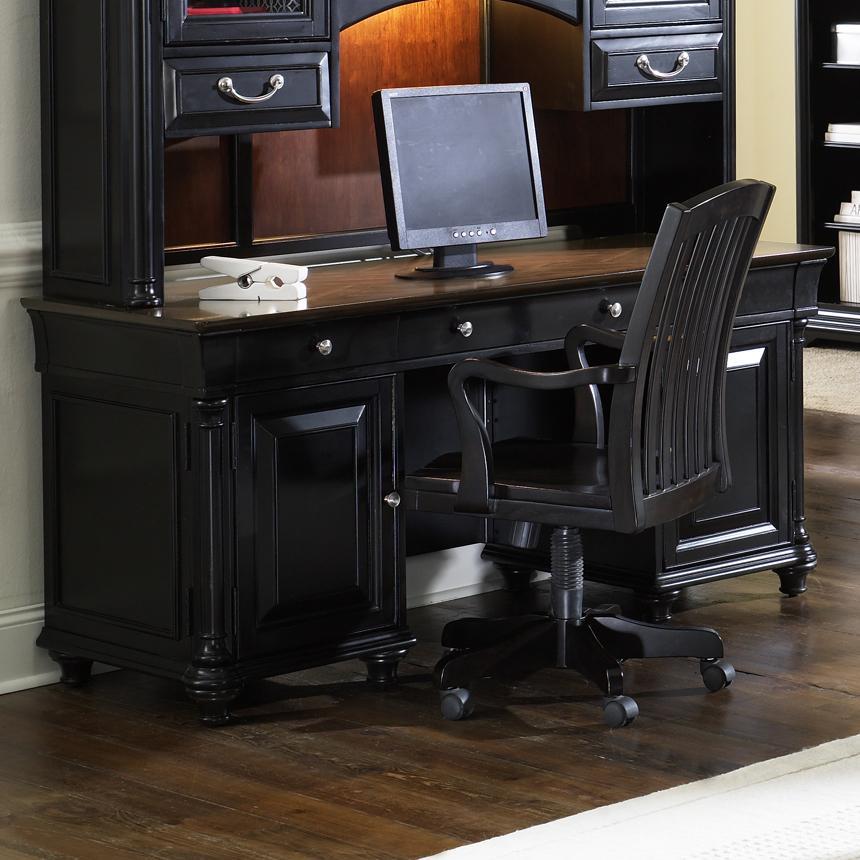 St Ives Jr Executive Credenza Desk Rotmans Double