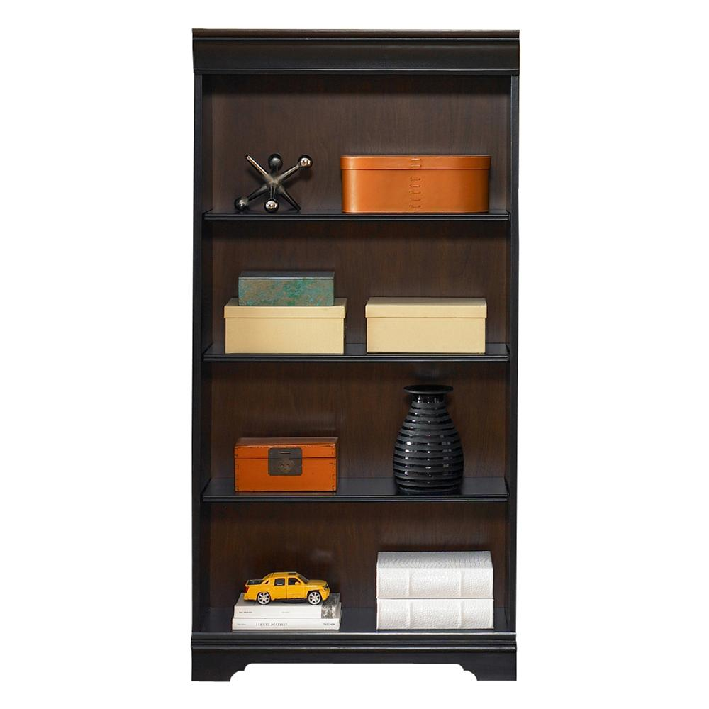 60-Inch Executive Open Bookcase
