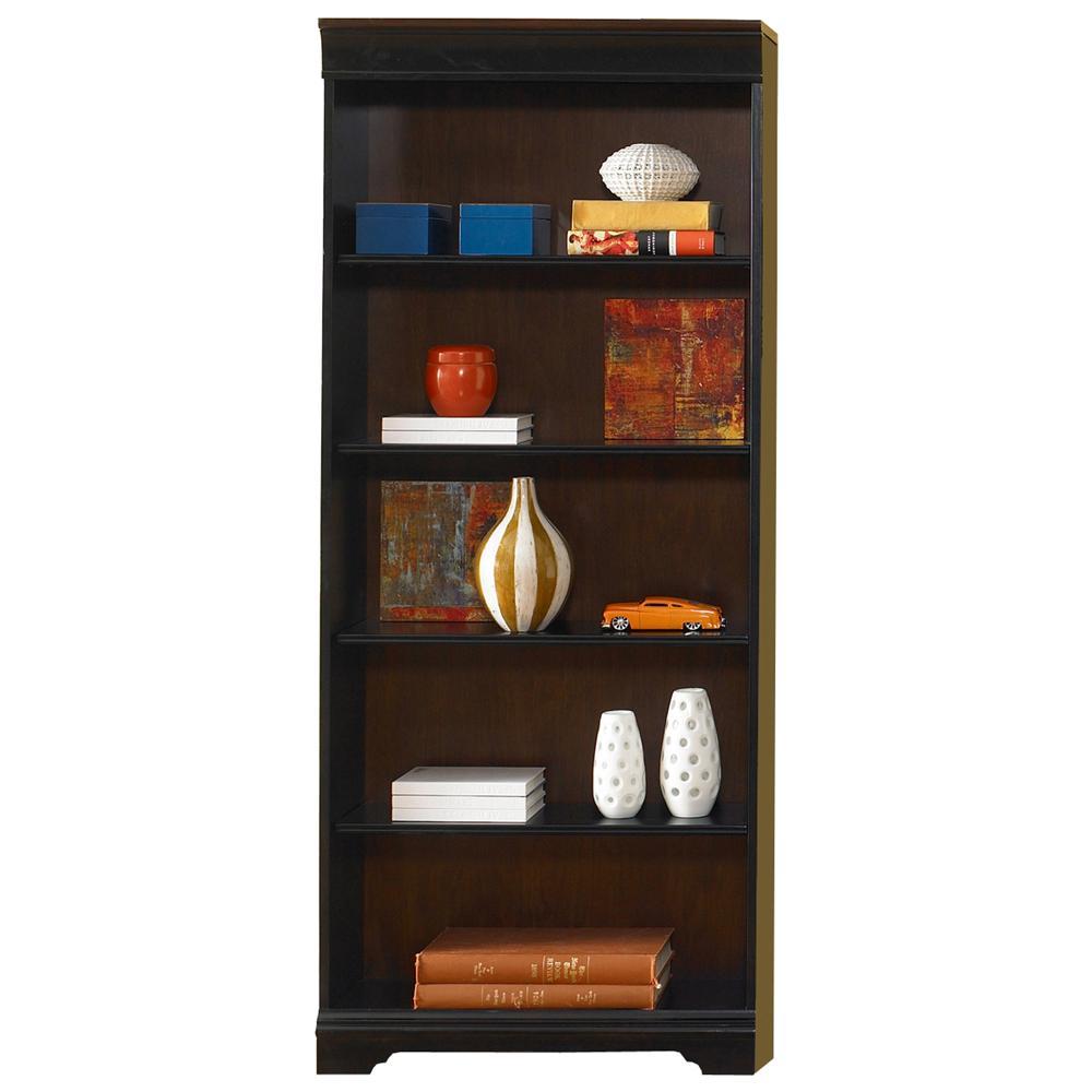 72-Inch Executive Open Bookcase