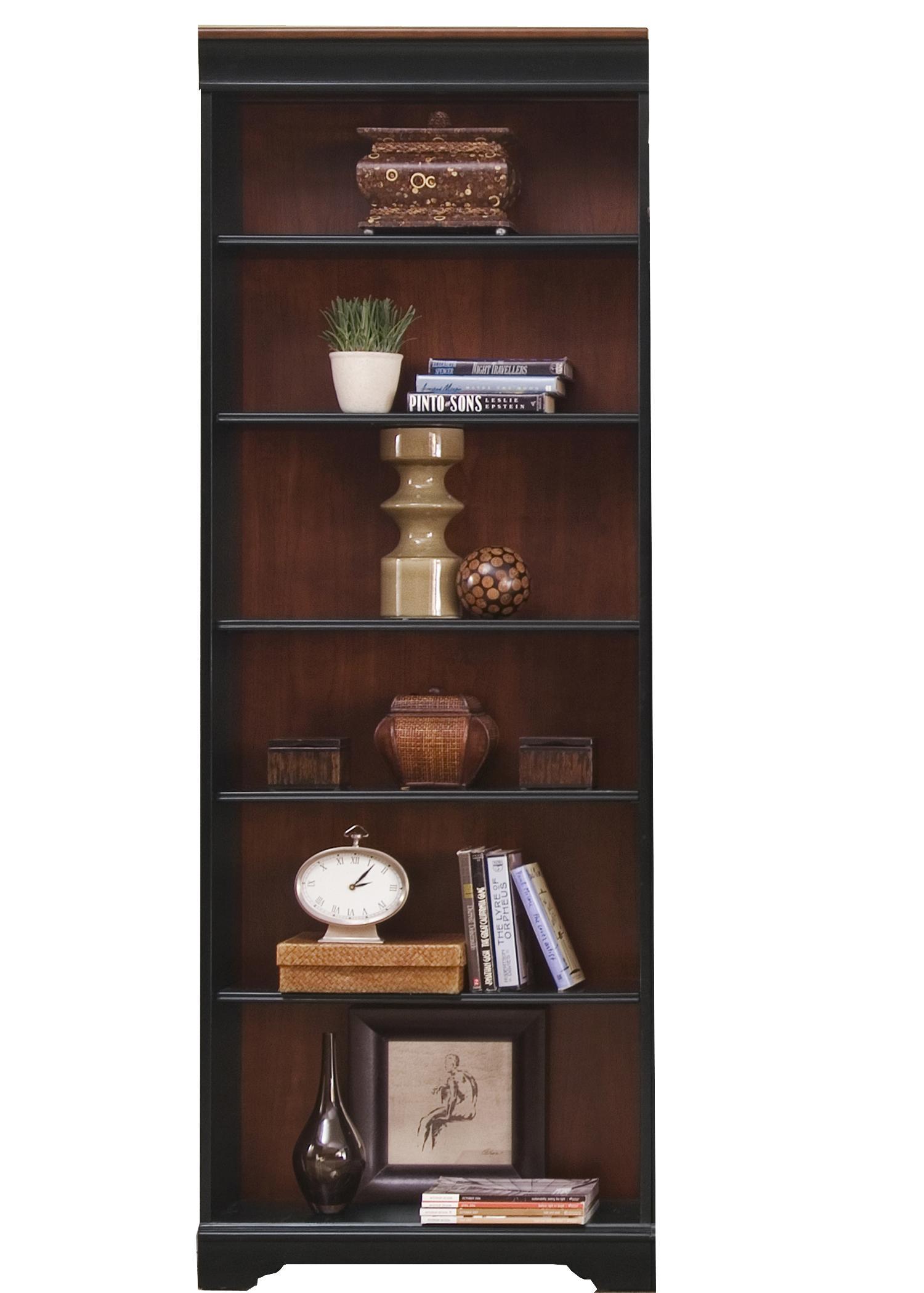 "Liberty Furniture St. Ives Jr Executive 84"" Bookcase  - Item Number: 260-HO3084-R"