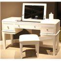 Liberty Furniture Stardust Vanity - Item Number: 710-BR35