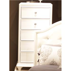 Liberty Furniture Stardust 5-Drawer Lingerie Chest