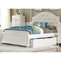 Liberty Furniture Stardust Full Trundle Bed  - Item Number: 710-YBR-FTR