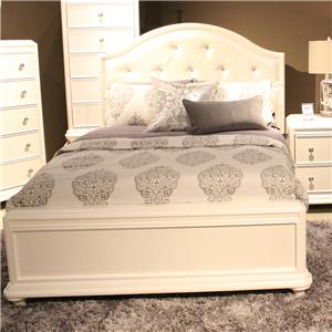 Vendor 5349 Stardust Twin Panel Bed