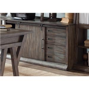 Liberty Furniture Stone Brook Computer Credenza