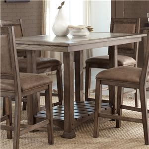 Liberty Furniture Stone Brook Kitchen Island Table