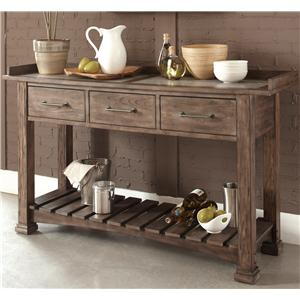 Liberty Furniture Stone Brook Server