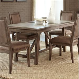 Liberty Furniture Stone Brook Trestle Table
