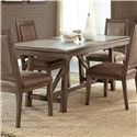 Liberty Furniture Stone Brook Trestle Table - Item Number: 466-T4096