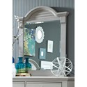 Liberty Furniture Sumer House Youth Rectangular Mirror - Item Number: 407-BR50