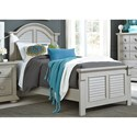 Liberty Furniture Sumer House Youth Twin Panel Bed  - Item Number: 407-YBR-TPB
