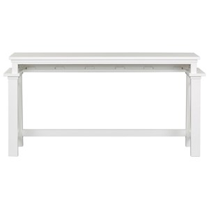 Counter Height Console Bar Table