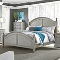 Liberty Furniture Summer House II King Poster Bed  - Item Number: 407-BR-KPS