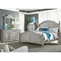 Liberty Furniture Summer House II King Bedroom Group - Item Number: 407-BR-KPSDM