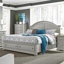 Liberty Furniture Summer House II King Storage Bed  - Item Number: 407-BR-KSB