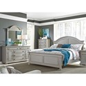Liberty Furniture Summer House II Queen Bedroom Group - Item Number: 407-BR-QPBDMC