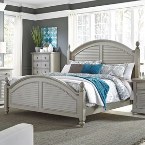 Liberty Furniture Summer House II Queen Poster Bed