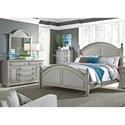 Liberty Furniture Summer House II Queen Bedroom Group - Item Number: 407-BR-QPSDM