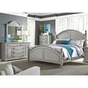 Liberty Furniture Summer House II Queen Bedroom Group - Item Number: 407-BR-QPSDMC