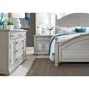Liberty Furniture Summer House II Queen Bedroom Group - Item Number: 407-BR-QPSDMN